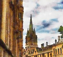 University church of St Mary The Virgin, Oxford by buttonpresser
