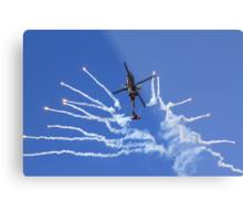 RNLAF AH-64D APACHE DEMO TEAM  Metal Print