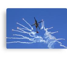 RNLAF AH-64D APACHE DEMO TEAM  Canvas Print