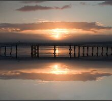 Lossiemouth East Beach Bridge, Scotland by Andrew Watson