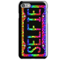 SELFIE PHONE COVER - rainbow cubes iPhone Case/Skin