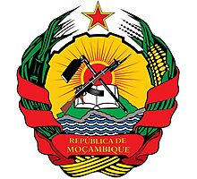 National Emblem of Mozambique  Photographic Print