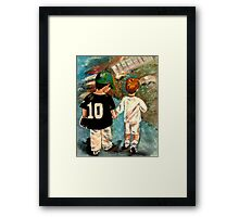 Toddlers- Sports Framed Print