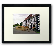 On a country lane Framed Print
