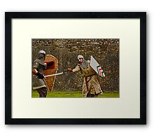 The Strike - Charlesfort Kinsale Co. Cork Framed Print