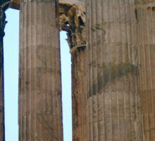 Temple of Zeus  Sticker