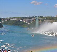 Rainbow bridge with rainbow by Poete100