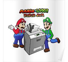 Mario and Luigi Paper Jam Poster