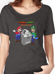 Mario and Luigi Paper Jam Women's Relaxed Fit T-Shirt