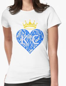 RHC brush Womens Fitted T-Shirt