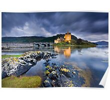 Scotland: Eilean Donan Twilight Poster