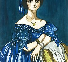 'Cat Lady' by Valena Lova