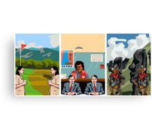 Surreal Triptych 3 Canvas Print