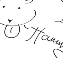 Hammy the Hamster Sticker