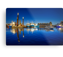 Freemantle Harbour Metal Print