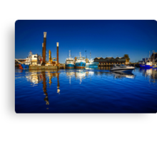 Freemantle Harbour Canvas Print