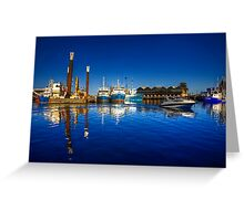 Freemantle Harbour Greeting Card