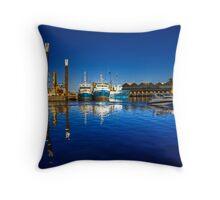 Freemantle Harbour Throw Pillow