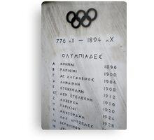 Panathenaic Stadium Metal Print