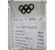 Panathenaic Stadium iPad Case/Skin