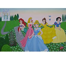 Disney princess painting Photographic Print