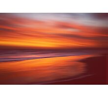 Amber Coast Photographic Print