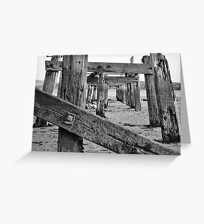 Harbour - Decay Greeting Card