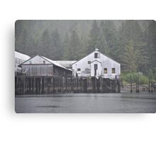 Old factory Canvas Print