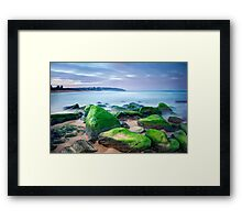 South Curl Curl Framed Print
