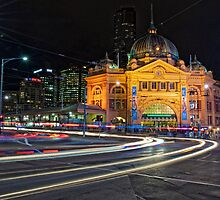 Flinders Street Station by Krishna Gopalakrishna
