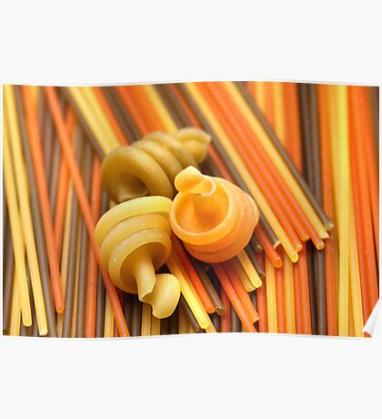 Tre Colori With Snails II Poster