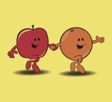 Apples and Oranges Kids Clothes