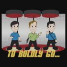 To Boldly Go by rexraygun