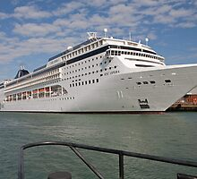 Msc Opera docked at Southampton, September 2011 by Keith Larby