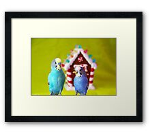 House Party Framed Print