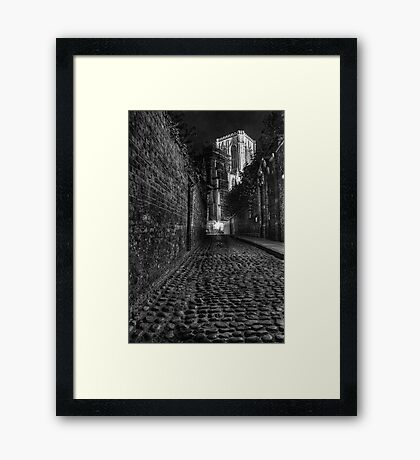 Chapter House Street Framed Print