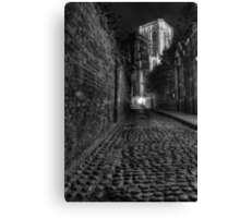 Chapter House Street Canvas Print
