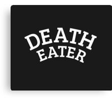 Death Eater Reversed Canvas Print
