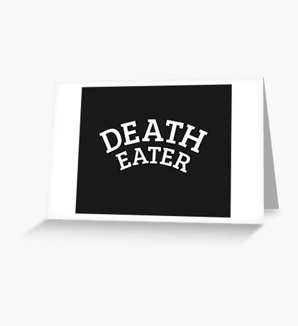 Death Eater Reversed Greeting Card