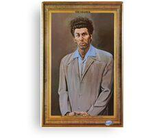NEW Seinfeld The Kramer Portrait Adult T Shirt Funny TV Show Canvas Print