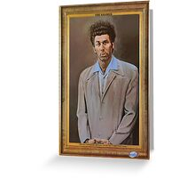 NEW Seinfeld The Kramer Portrait Adult T Shirt Funny TV Show Greeting Card