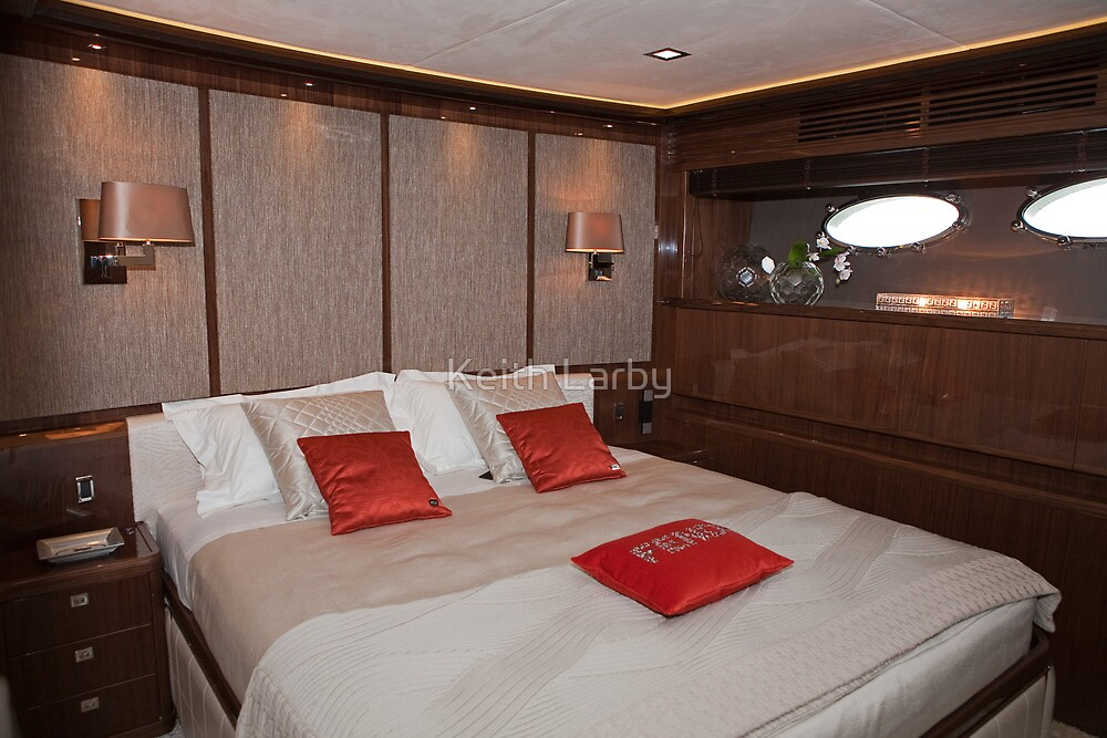 Princess 98 motor yacht suite by Keith Larby