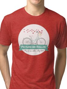 Picture me Rollin' Bike Illustration. They see me Rollin, They be Lovin' Tri-blend T-Shirt