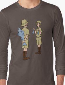Fish Slapping Dance Long Sleeve T-Shirt