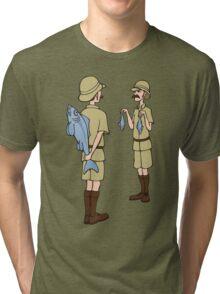 Fish Slapping Dance Tri-blend T-Shirt