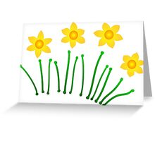 Daffodils!!! Greeting Card