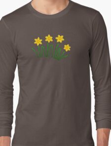 Daffodils!!! Long Sleeve T-Shirt
