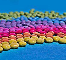 Rainbow Pearls by Denise Abé
