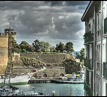 Le chateau Brest by jean-jean