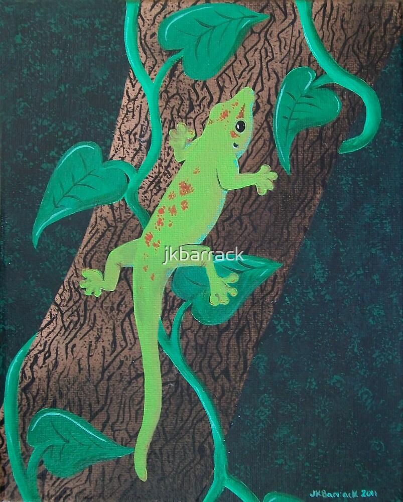 Day Gecko by Joann Barrack
